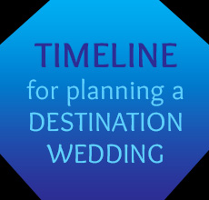 Timeline for a destination wedding